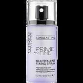 Bild: Catrice Prime and Fine Multitalent Fixing Spray