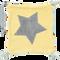 Bild: biobaby Schnullertuch aus Nicki gelb