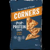 Bild: CORNERS Pop Protein Crisps Cheddar & Onion