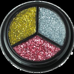 Bild: Jofrika Trio Glitter silber-gold-pink