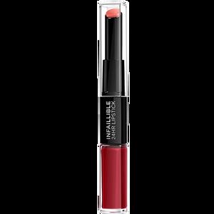 Bild: L'ORÉAL PARIS Infaillible Lippenstift 700 boundless burgundy