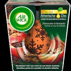 Bild: AIRWICK Wohlfühl-Duftkerze Zimtzauber & Bratapfel