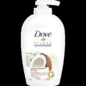 Bild: Dove Hand-Waschlotion mit Kokos- und Mandelduft