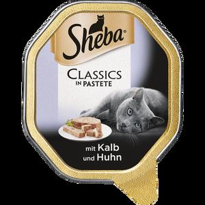 Bild: Sheba Classics mit Kalb & Huhn