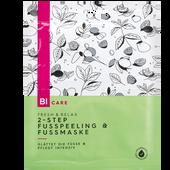 Bild: BI CARE 2-Step Fusspeeling & Fussmaske Fresh & Relax