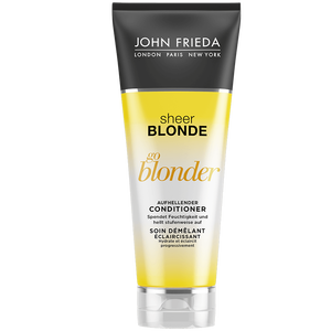 Bild: JOHN FRIEDA Sheer Blonde Go Blonder aufhellender Conditioner