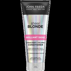 Bild: JOHN FRIEDA Sheer Blonde Brillant Shine Strahlkraft und Volumen Conditioner