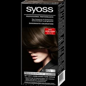 Bild: syoss PROFESSIONAL dauerhafte Coloration mittelbraun