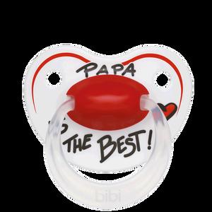 Bild: Bibi Beruhigungssauger Papa is the best 16+ Monate