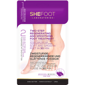 Bild: SheFoot zweistufige regenerierend-glättende Fußkur