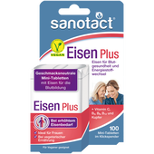 Bild: sanotact Eisen Plus Mini-Tabletten