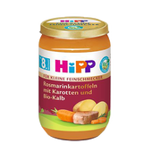 Bild: HiPP Feinschmecker Menü Rosmarionkartoffeln mit Bio-Kalb