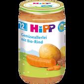 Bild: HiPP Gemüseallerlei mit Bio-Rind