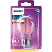 Bild: PHILIPS LED Lampe 60W E27 klar