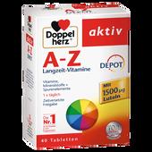 Bild: DOPPELHERZ A - Z Depot Tabletten