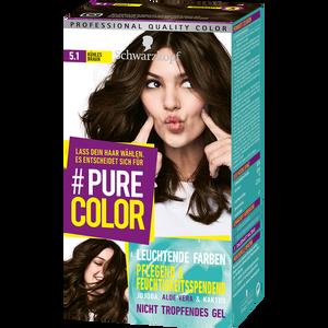 Bild: Schwarzkopf Pure Color Coloration kühles braun