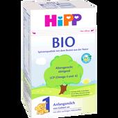 Bild: HiPP Bio Anfangsmilch 1