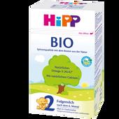 Bild: HiPP 2 Bio Folgemilch