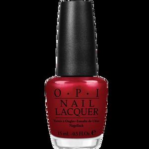 Bild: O.P.I Nail Lacquer danke-shiny red