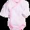 Bild: Schnizler Wickelbody Langarm pink