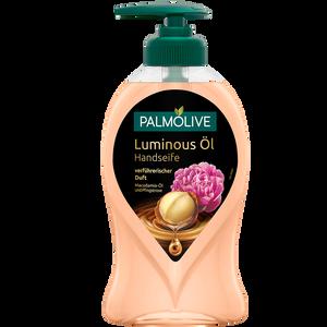 Bild: Palmolive Luminous Öl Handseife Macadamia-Öl & Pfingstrose