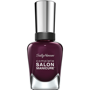 Bild: Sally Hansen Complete Salon Manicure Nagellack pat on the black