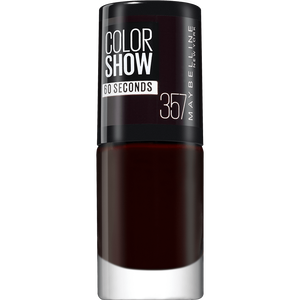 Bild: MAYBELLINE Colorshow 60 seconds Nagellack Burgundy Kiss