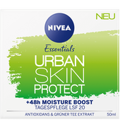 Bild: NIVEA Essentials Urban Skin Protect Tagespflege LSF 20