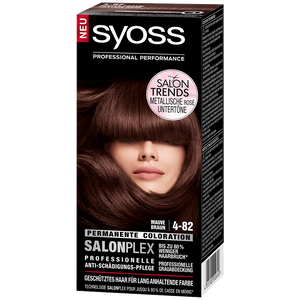 Bild: syoss PROFESSIONAL Salonplex Permanente Coloration Mauve Braun