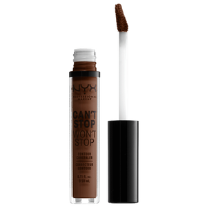 Bild: NYX Professional Make-up Can't Stop Won't Stop Concealer deep walnut