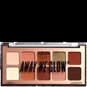 Bild: NYX Professional Make-up Away we glow Palette