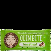 Bild: QUIN BITE Hazelnut Raw Bar Riegel