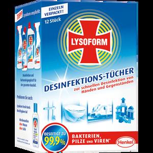 Bild: LYSOFORM Desinfektionstücher