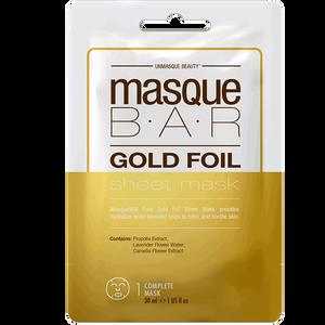 Bild: masque BAR Gold Foil Sheet Mask