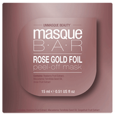 Bild: masque BAR Rose Gold Foil Peel-off Maske Pod