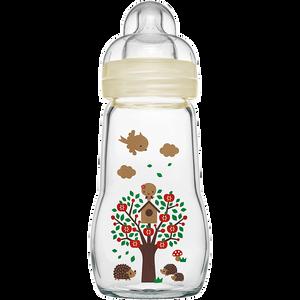 Bild: MAM Feel Good 260ml - Babyflasche aus Glas Beige