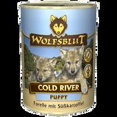 Bild: Wolfsblut Cold River Puppy Forelle
