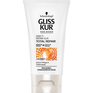 Bild: Schwarzkopf GLISS KUR Hair Repair Total Repair Direct-Repair-Kur