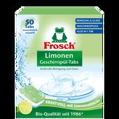 Bild: Frosch Limonen Geschirrspül-Tabes
