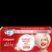 Bild: Colgate Max White Expert White Kit Zahncreme mit Stift