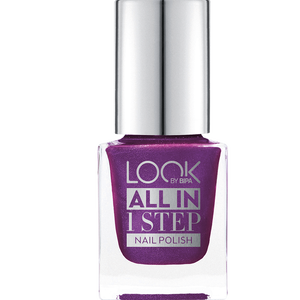 Bild: LOOK BY BIPA All in 1 Step Nagellack 430 purple fiction