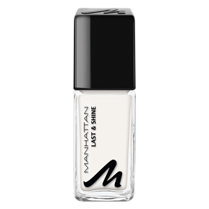 Bild: MANHATTAN Last & Shine Nagellack paint it white
