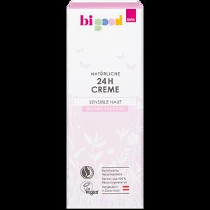 Bild: bi good Natürliche 24h Creme weiße Seerose für sensible Haut