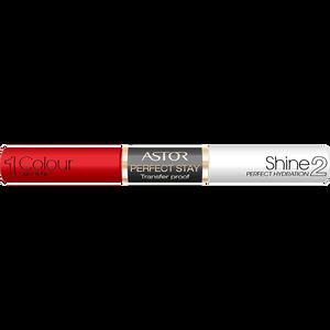 Bild: ASTOR Perfect Stay Transfer Proof Lippenstift bright red