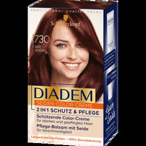 Bild: Schwarzkopf DIADEM Seiden-Color-Creme rotbuche