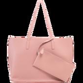 Bild: LOOK BY BIPA Shopper mit Pouch rosa