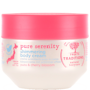 Bild: TREETS TRADITIONS pure serenity shimmering body cream