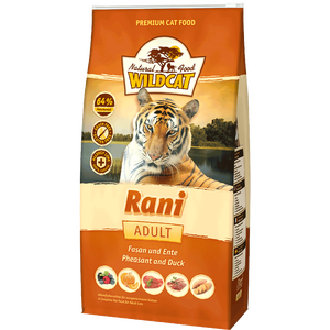 Bild: Wildcat Rani mit Fasan Ente