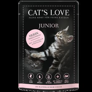 Bild: CAT´S LOVE Junior Huhn Katzenfutter