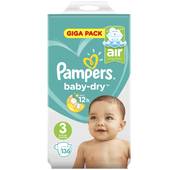 Bild: Pampers Giga Pack Gr. 3 (6-10kg)